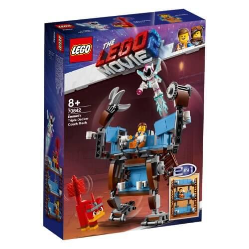70842 Emmetov robotski kauč na tri sprata