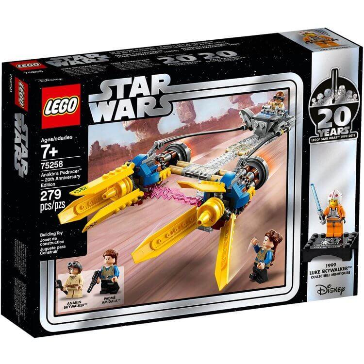 75258 Anakin-ov Podracer - Izdanje za 20. godišnjicu