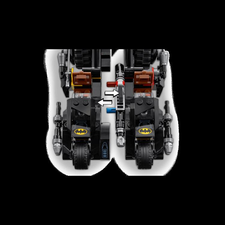 76118 Mr. Freeze™ i bitka na Batmanovu motoru