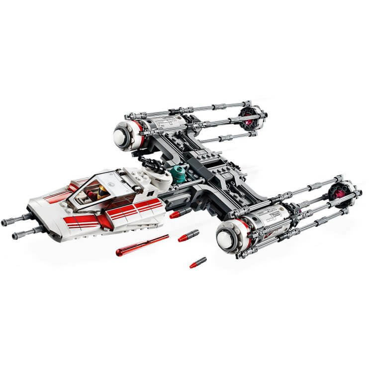 75249 Resistance Y-Wing Starfighter