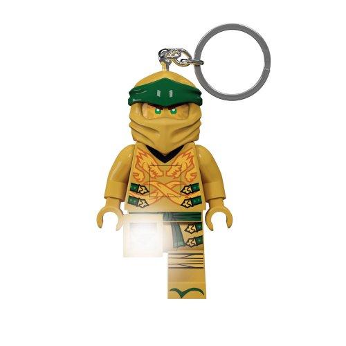 KE153 Privjesak za ključeve sa LED svijetlom Zlatni Ninja