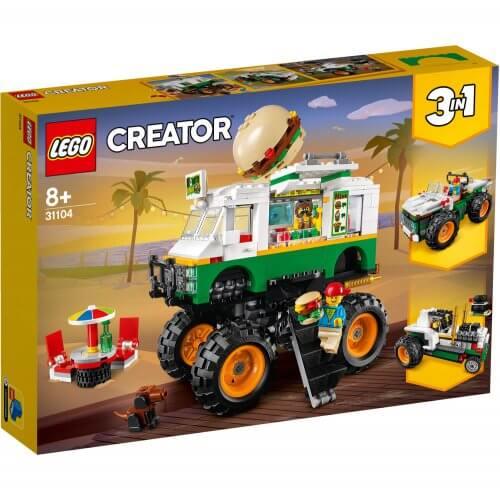 31104 Čudovišni kamion s hamburgerom