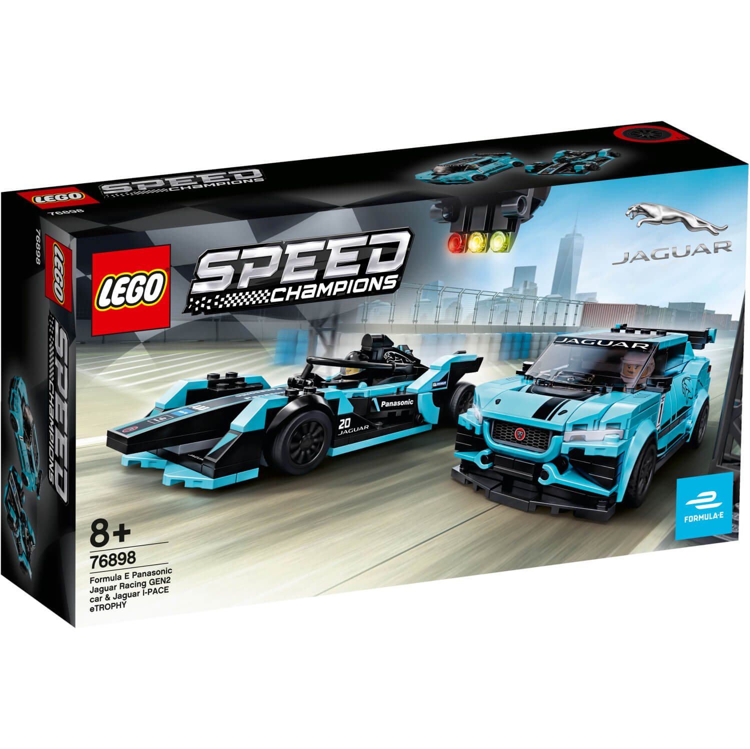 76898 Formula E Panasonic Jaguar Racing Gen2 car & Jaguar I-PACE eTROPHY